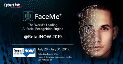 CyberLink to showcase FaceMe® AI Facial Recognition Engine at RetailNOW 2019