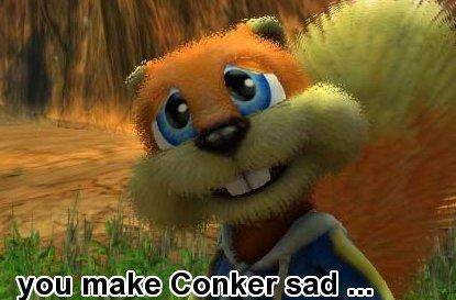 Sorry, no Xbox Originals Conker or Jade Empire