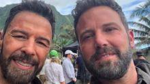 Ben Affleck Shares Selfie With 'Legend' Lookalike Stunt Double on Set of New Film
