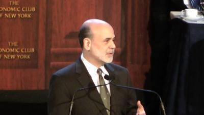 Bernanke warns Congress to avoid 'fiscal cliff'