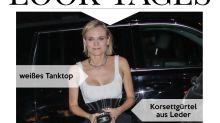 Look des Tages: Diane Kruger mit Wespentaille