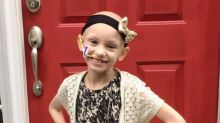 See This 7-Year-Old's Triumph Over Cancer Through Pics Taken on First and Last Day of School