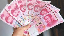 中國再掟美債 人幣半年高