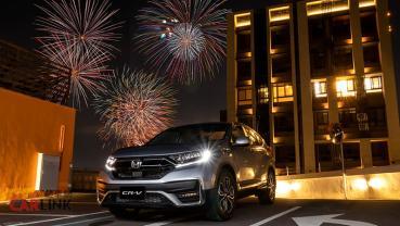 超過1400台!Honda CR-V奪2月中型休旅銷售冠軍