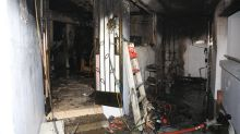 Infant and three others injured in fire caused by overnight charging of e-bike