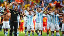 Argentina shows depth, beat Belgium