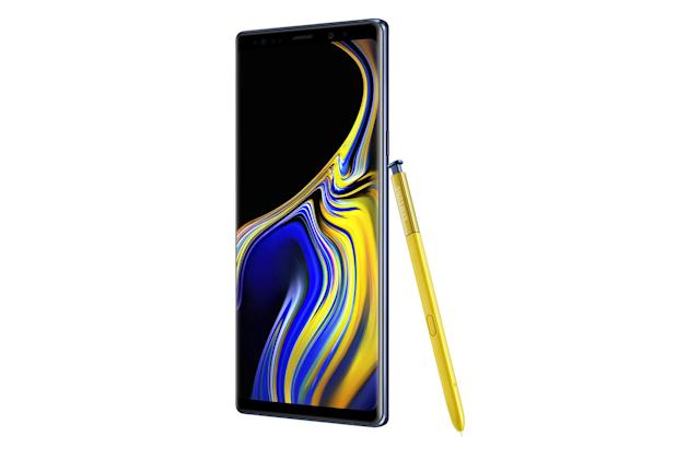 Samsung Galaxy Note 9 vs. the competition: Big and getting bigger