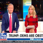 'Fox & Friends' Defends Trump's Call to Soldier's Widow: 'Not Something You Should Be Complaining About'