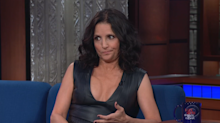 Vladimir Putin travels with his own private bathroom, according to Julia Louis-Dreyfus