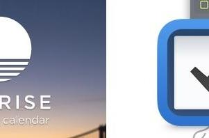 Sunrise calendar, Things productivity apps updated