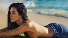 Oriana Sabatini posó en topless para Mica Tinelli