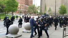 Anger at new police abuse videos as US protests eye weekend