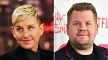 James Corden denies 'crazy' rumour he will replace Ellen DeGeneres on her US talk show