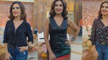 Batom vermelho de Fátima Bernardes segue como mais pedido da Globo. Veja mais escolhas da apresentadora