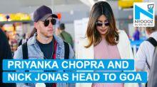 Priyanka Chopra heads to Goa with Nick Jonas