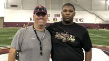 Florida State offers massive offensive tackle prospect