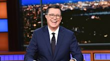 Stephen Colbert producing the animated series 'Tooning out the News' for CBS All Access