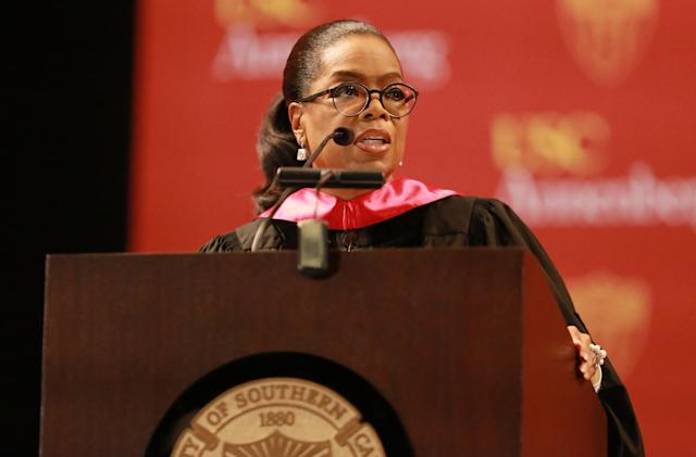 Oprah and Facebook team up to host a virtual graduation ceremony