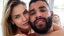 Andressa Suita afirma que 'contratempo' no casamento foi positivo
