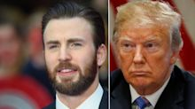 Chris Evans Exposes 'Painfully Transparent' Reason For Trump's Racist Attack