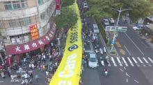 罷韓三山會師大遊行 韓國瑜無公開行程