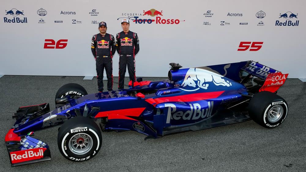 Toro Rosso在巴塞隆納發表新車STR12