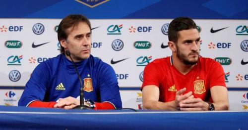 Foot - Amical - ESP - Julen Lopetegui (Espagne) : «Jouer notre jeu» contre la France