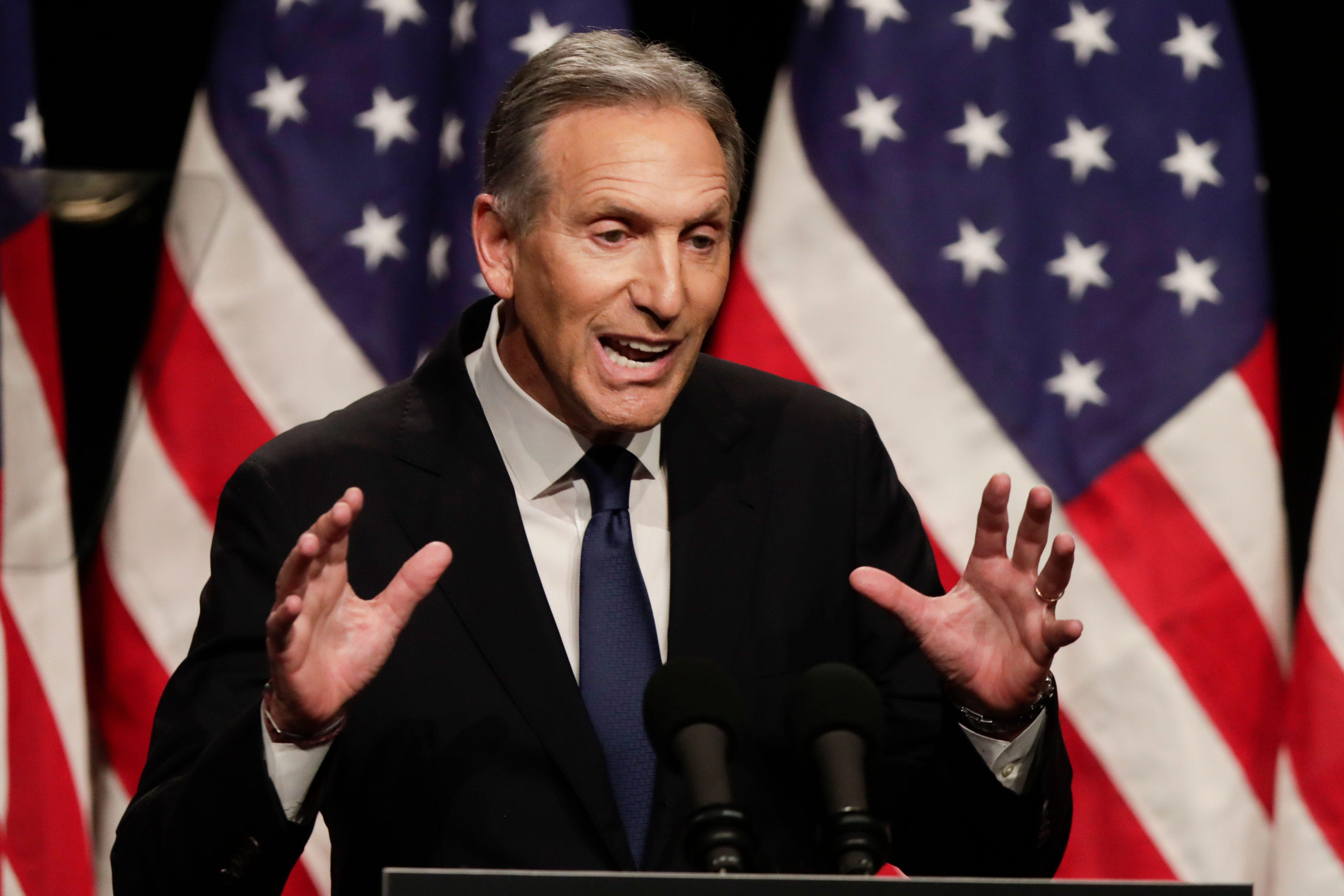 Billionaire investor who predicted Trump's victory doubts Howard Schultz has 'the stomach for this'