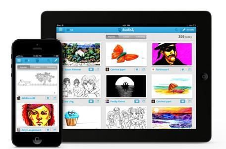 Social drawing app Doodle.ly adds iPhone support in its latest update