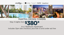 Sunrise Viewer Deal: Mantra Crown Towers