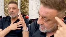Sanjay Dutt talks about cancer diagnosis in his new video