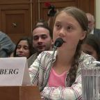 Thunberg to Congress: 'Listen to the scientists'