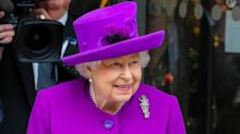 The Queen pays a virtual visit to the unveiling of her new portrait