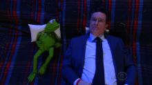 Stephen Colbert and Kermit the Frog Ponder the Big Questions