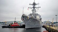 Members of Congress visit Navy shipbuilder amid talk of cuts