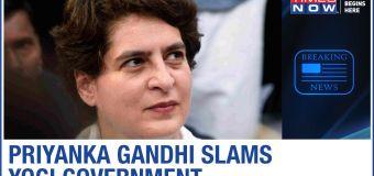 "Congress' Priyanka Gandhi questions Yogi Govt on Lakhimpur Kheri incident, says ""Shielding accused?"""