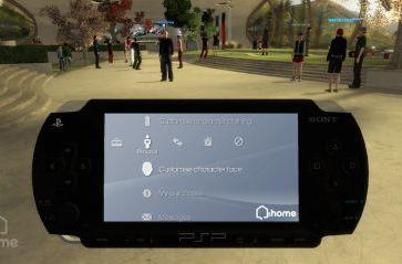 GDC 07: Virtual PSP debuts in Playstation Home
