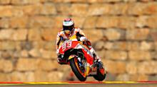 Marquez pulls clear with Aragon win as Rossi claims credible fifth