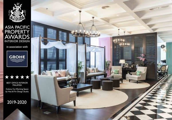 Colony Coworking Space Wins Best Office Interior in Malaysia at Coveted Asia Pacific Property Awards