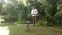 RC Helicopter Test Doesn't Go As Planned!