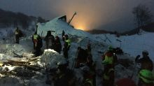 Italy avalanche toll at 17 as helicopter crash adds to pain
