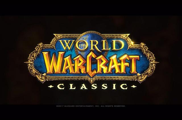 Blizzcon 2018 Virtual Ticket includes 'WoW Classic' demo