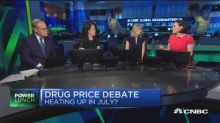 Drug pricing debate could heat up in July