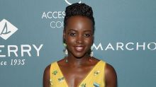 Lupita Nyong'o Wears Jewels on Her Eyes and It's the Coolest Beauty Look Ever