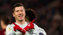 Bayern thump Hanover to go level with second-place Gladbach