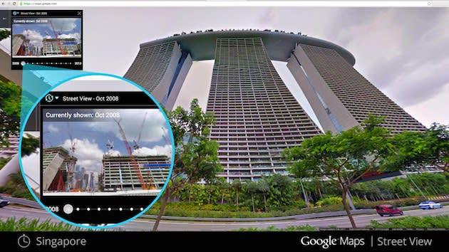 Google Street View wird Zeitmaschine (Video)