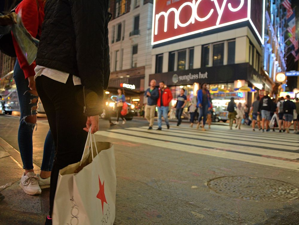 Traditional retailers like Macy's and Nordstrom have faced technical issues on holiday online sales.