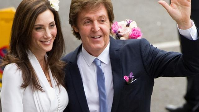 Paul McCartney weds for third time