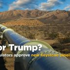 Nebraska regulators approve Keystone XL pipeline route in win for Trump