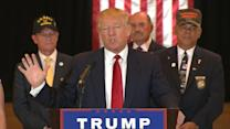 Donald Trump Details $5.6M in Charitable Contributions to Veterans' Groups